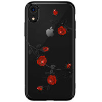 Чехол Kingxbar Blossom Series для iPhone XR Rose