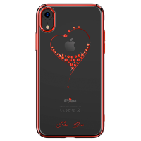 Чехол Kingxbar Wish Series для iPhone XR Red Frame